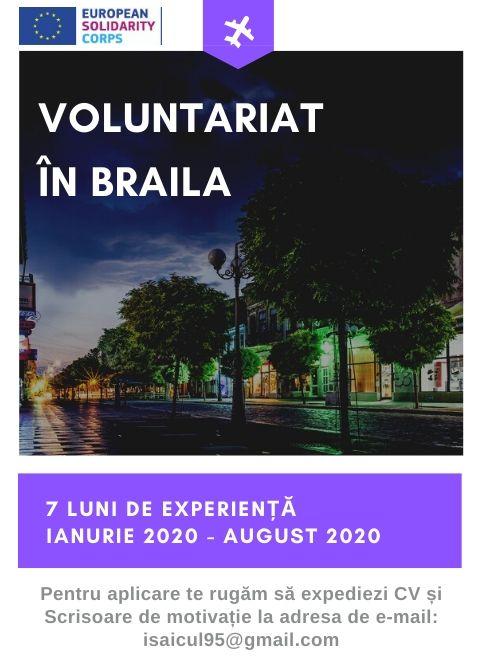 voluntariat braila