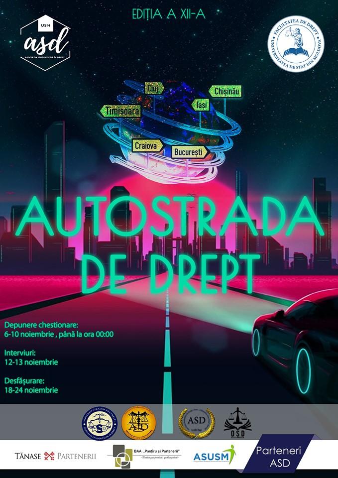 proiect pentru tineri autostrada de drept