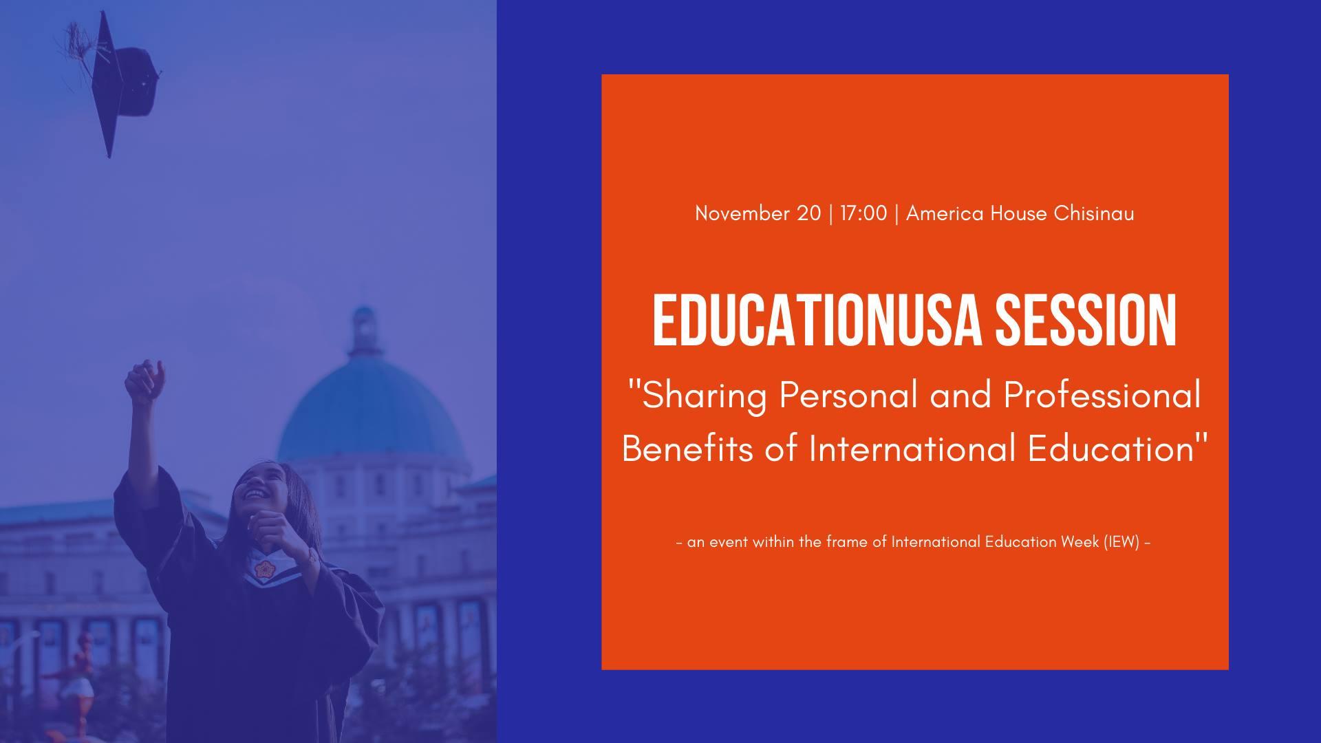 Eveniment gratuit pentru tineri, curs public în Chișinău, eduatie internationala