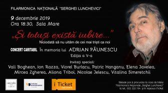 concertul caritabil adrian păunescu