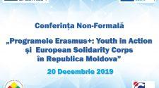 Conferință, oportunitățile Erasmus+
