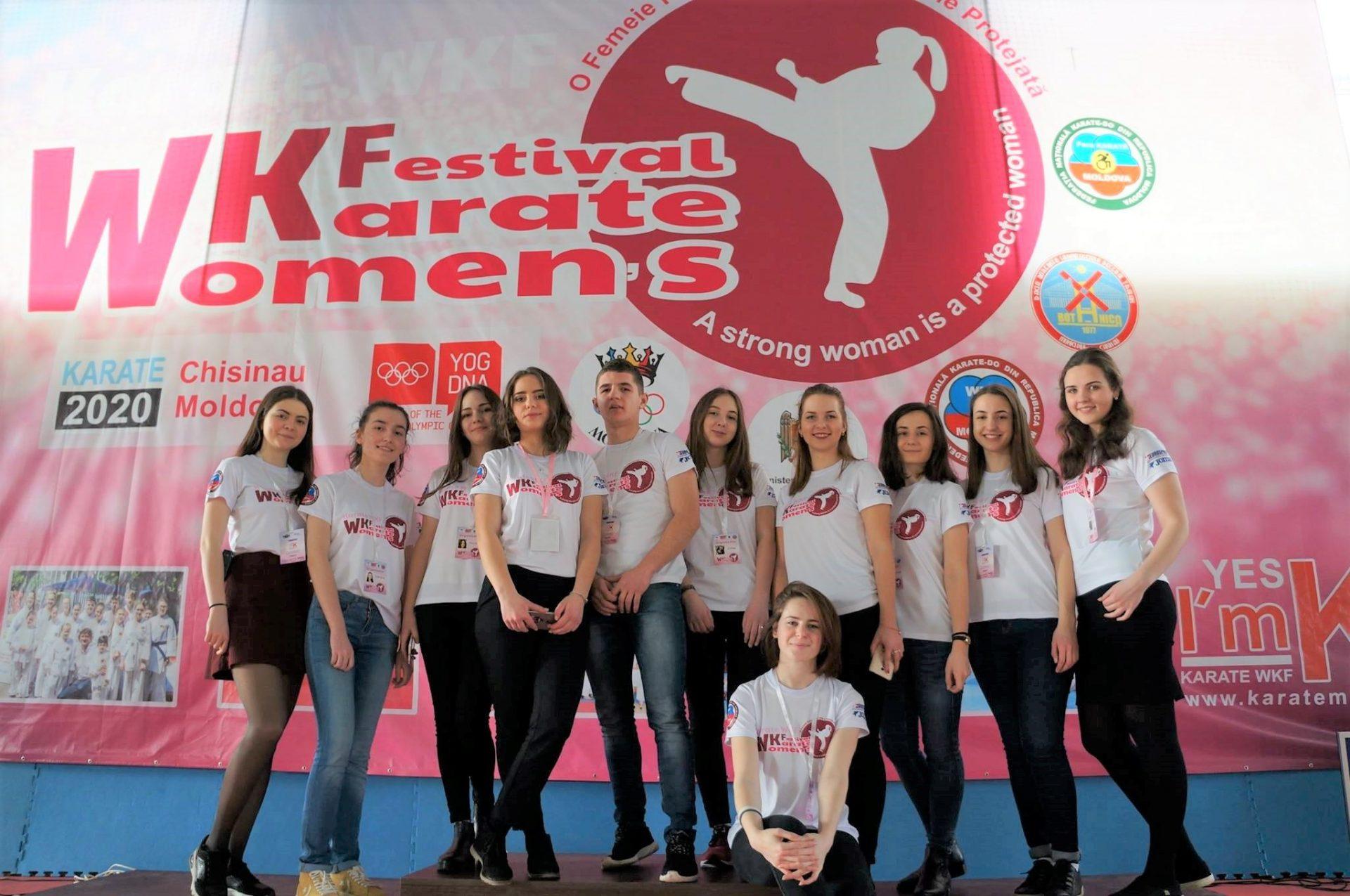 voluntariat pentru tineri festivalul feminin karatedo