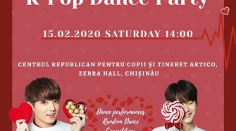 k-pop moldova dance party