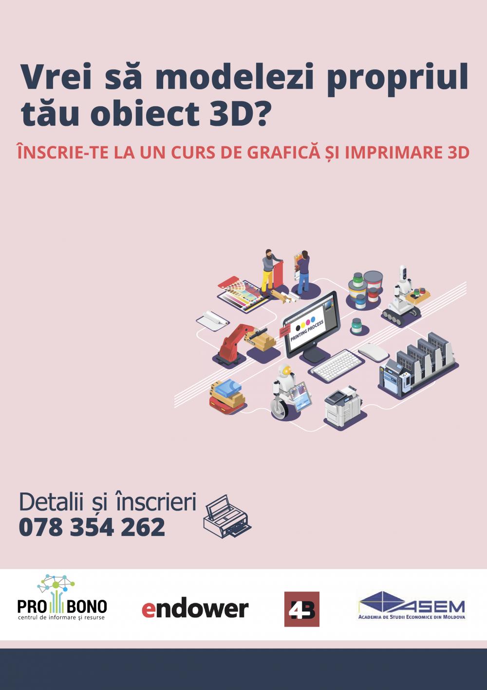 cursul de imprimare 3d