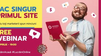 webinarii live cum creezi primul site