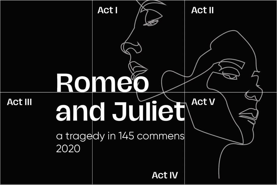 romeo și julieta în instagram