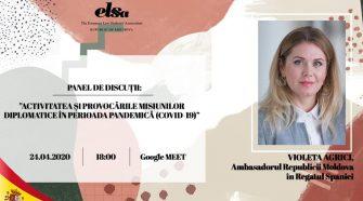 atelier de discuții online misiuni diplomatice