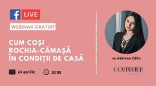 Couturier Academy webinar croitorie