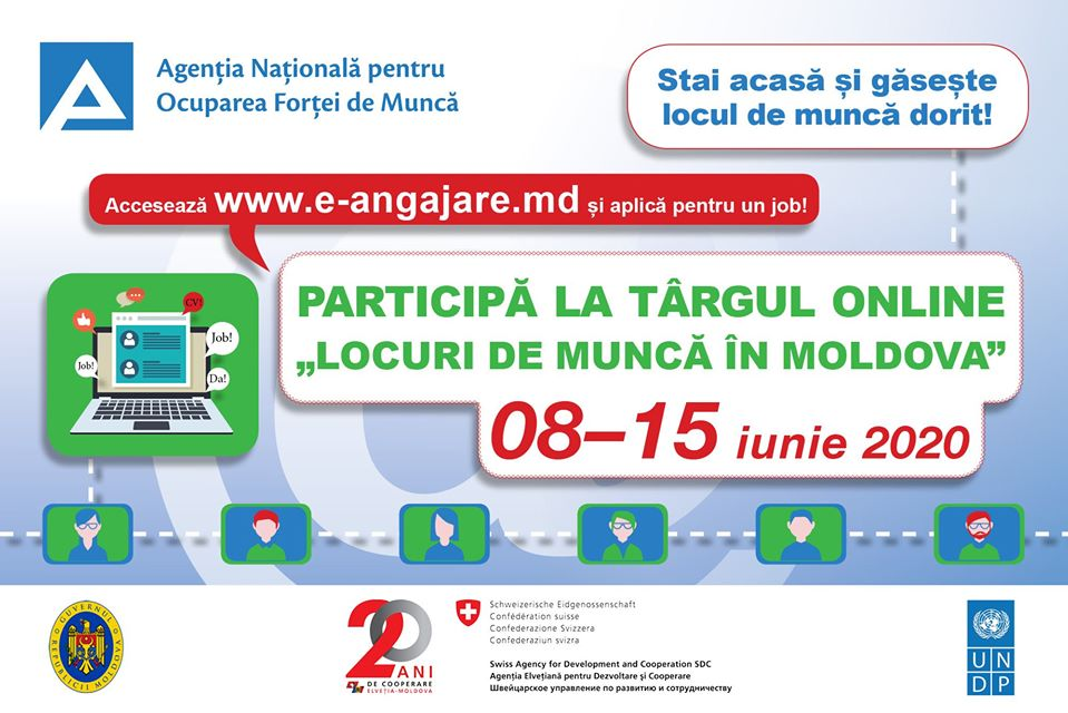 Locuri de muncă în Moldova