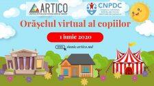Orășelul virtual la Artico de Ziua Copiilor
