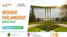 Webinar parlamentar pentru tineri