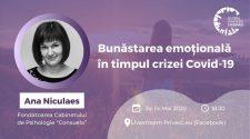 bunăstarea emoțională webinar