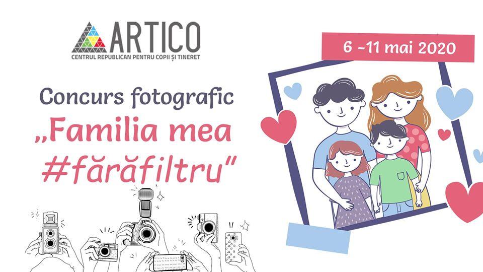 """""""Familia mea #fărăfiltru"""" concurs foto artico"""