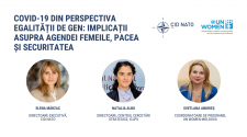 discuție online egalitate de gen pandemie