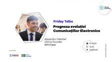Friday Talks comunicații eletronice