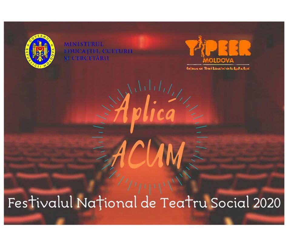 Festivalul Național de Teatru Social Y-PEER Moldova