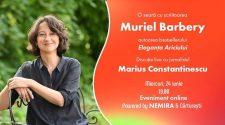 Muriel Barbery dialog online cu scriitoarea