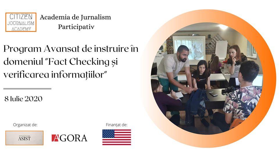 fact checking academia de jurnalism participativ