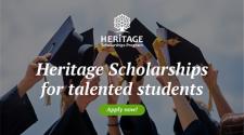 Ai reușite școlare înalte? Beneficiază de programul: Burse de studii Heritage
