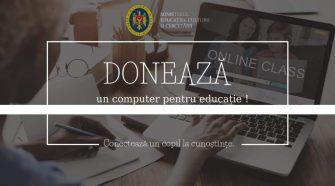 Campania Națională donează un calculator