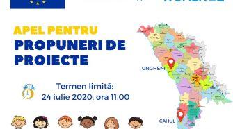 promovarea egalității de gen apel de propuneri