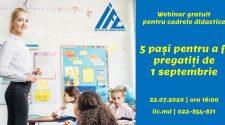 webinar gratuit pentru profesori