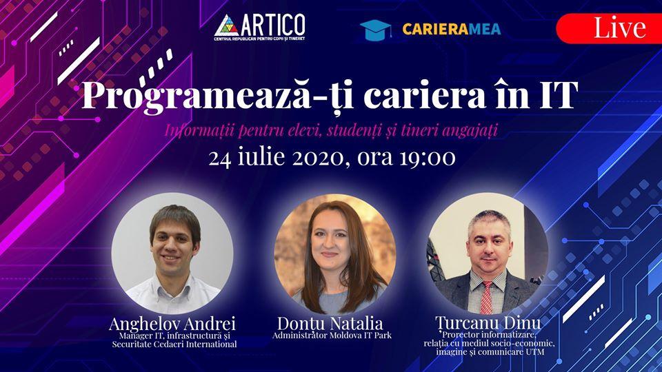 cariera în IT artico event online