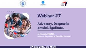 eveniment pentru tineri webinar advocacy