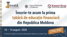 educație financiară tabără online