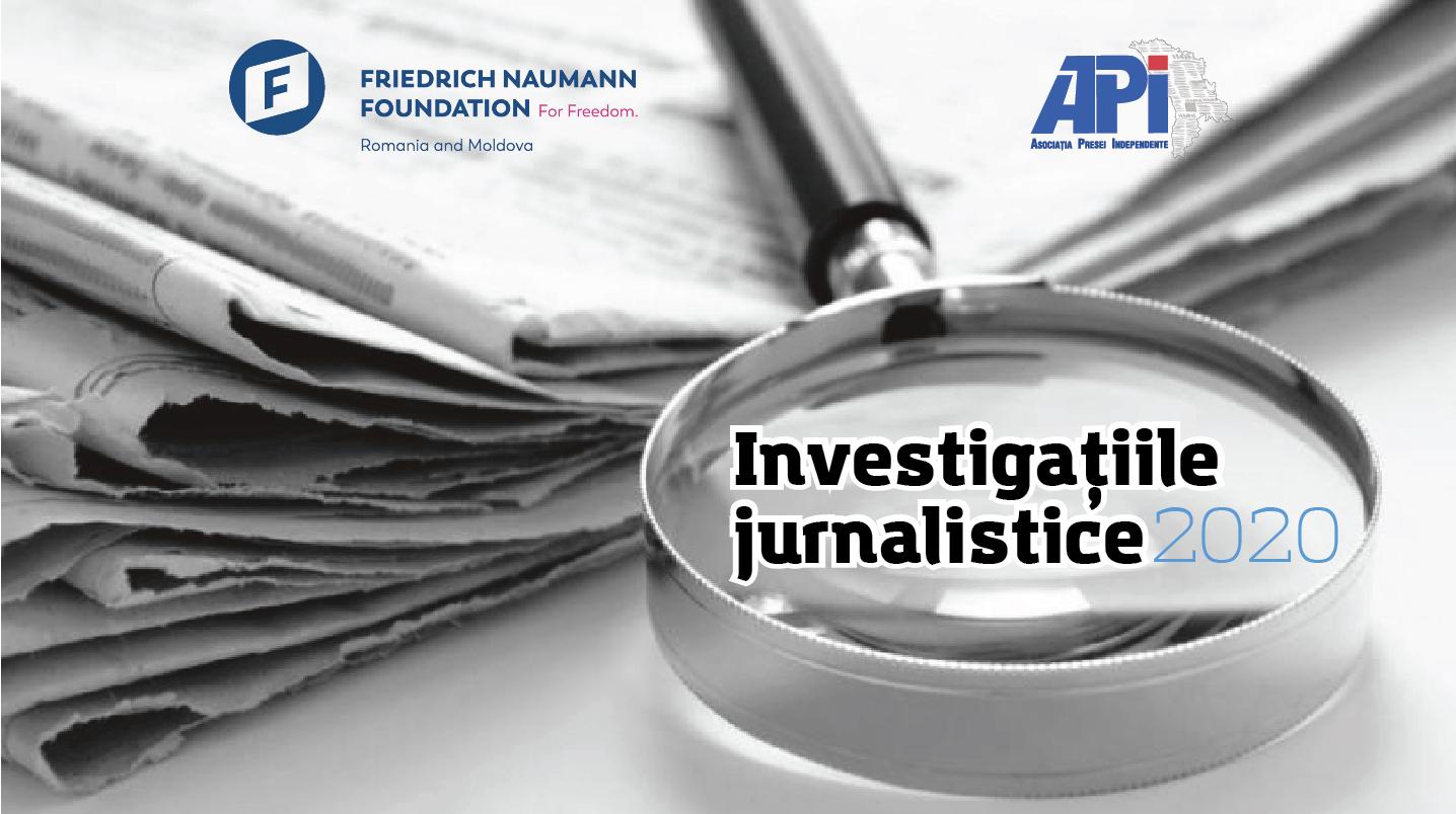 Investigațiile jurnalistice 2020