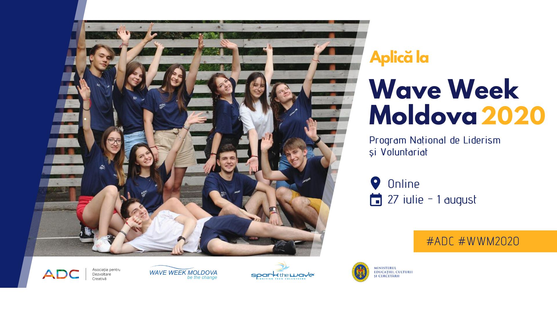 """""""Wave Week Moldova"""" 2020"""