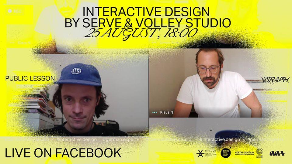 interactive web lecție publică artcor