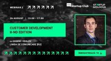 Customer development webinar