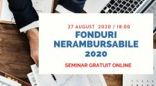 seminar online gratuit fonduri nerambursabile