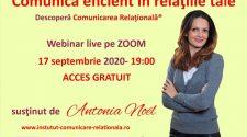 webinar gratuit comuncarea relațională