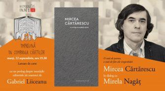 Humanitas Live cu Mircea Cartărescu