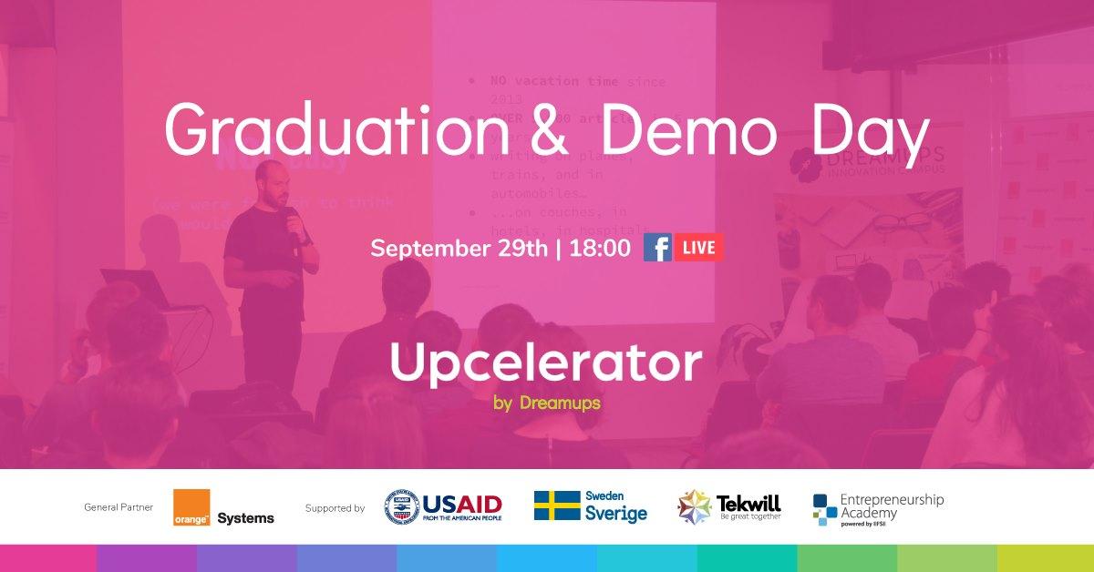 Upcelerator demo day