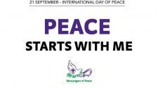 conferința pacea începe cu mine