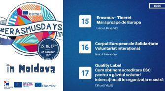 ErasmusDays sesiune de informare pentru tineri