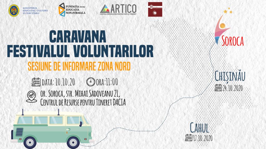 Festivalul Voluntarilor zona nord