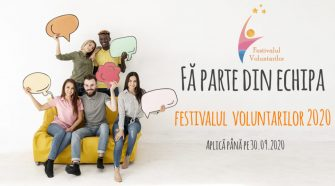 voluntari activi Festivalul Voluntarilor 2020