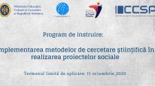 curs gratuit proiecte sociale