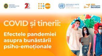 Eveniment de prezentare a rezultatelor cercetării: Covid-19 și Tinerii: bunăstarea psiho-emoțională
