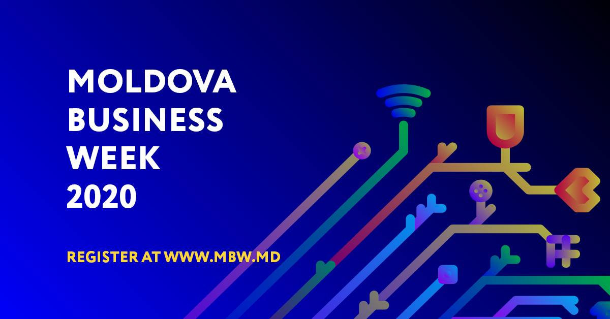 Agenția de Investiții organizează în perioada 19-20 noiembrie 2020 cea de-a VII-a ediție a forumului internațional Moldova Business Week (MBW).