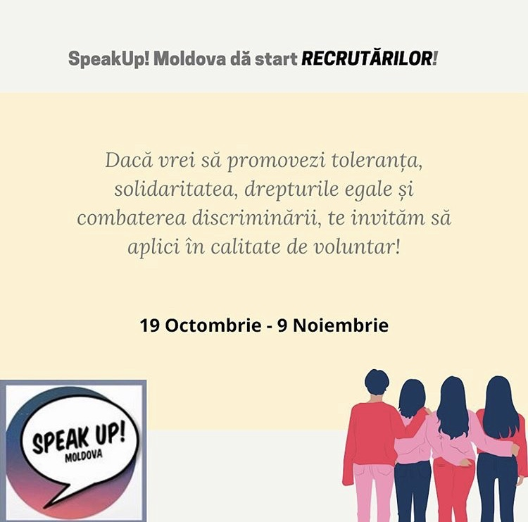 voluntariat speak up moldova