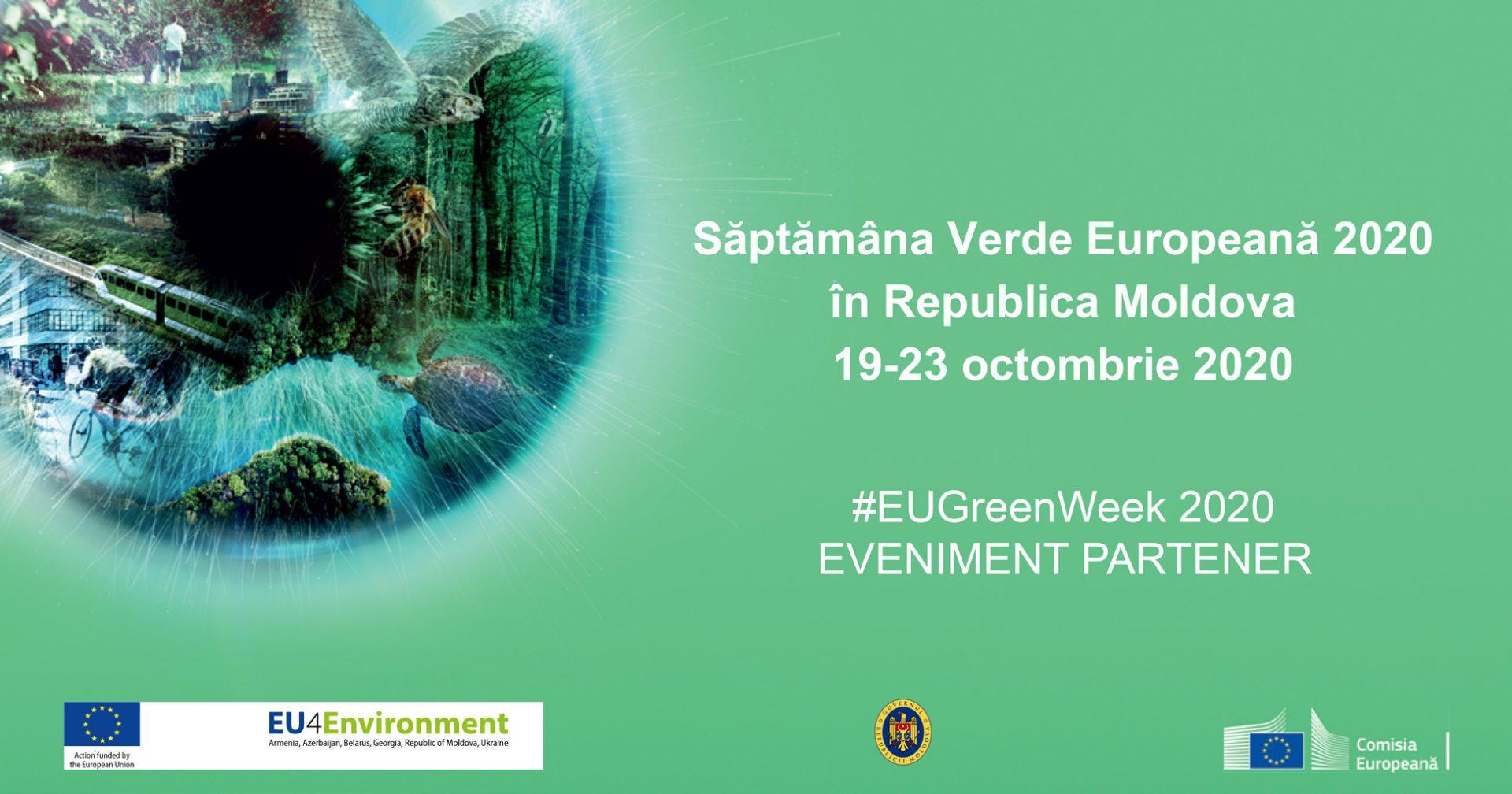 Republica Moldova marchează Săptămâna Verde Europeană 2020