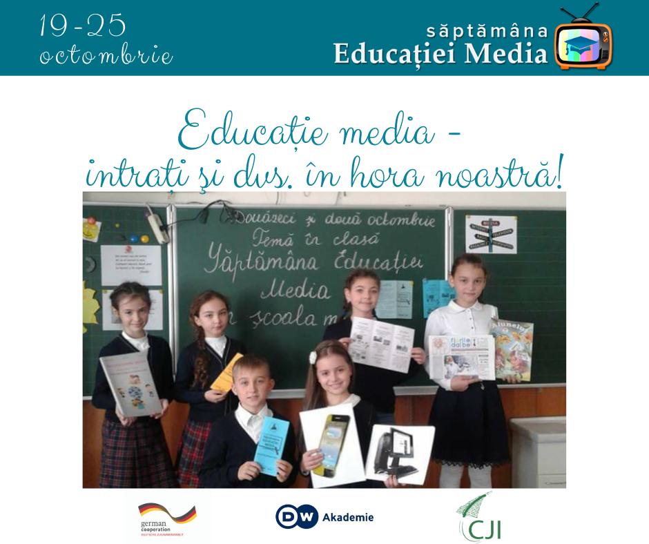 Săptămâna Educaţiei Media în Moldova, ediţia 2020