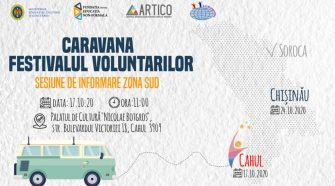 caravana voluntarilor sud
