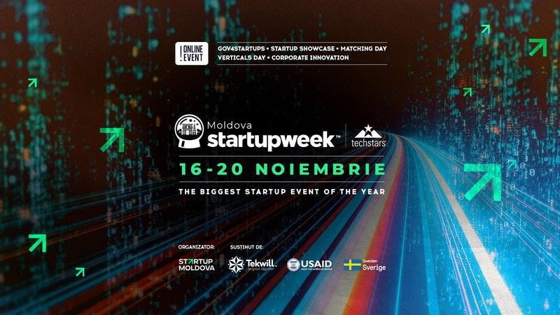 Startup Week 2020 moldova