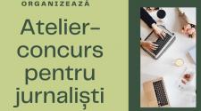 """EcoVisio organizează atelier-concurs pentru jurnaliști: """"Informare corectă pentru un mediu curat"""""""